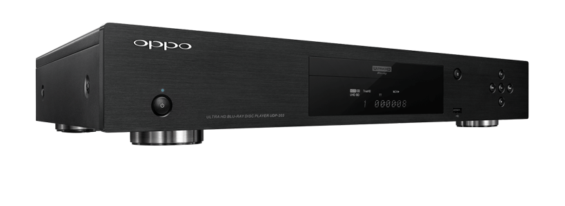 Oppo UDP-203 4K Ultra HD Blu-ray Disc Player NOW AVAILABLE  $549 presale