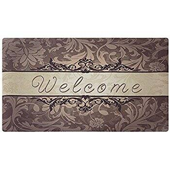 18x30 Rubber Doormat Indoor Washable Low Profile $6.99 shipped with Amazon Prime