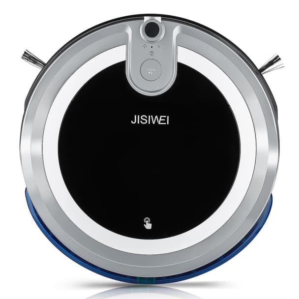 JISIWEI I3 Wi-Fi Enabled Robotic Vacuum Cleaner Automatic Self Charging Floor Cleaner w/ Accessories $85.99 + Free Shipping at Newegg