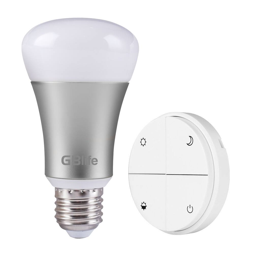 GBlife Wireless Battery-Free Remote Control Smart LED Lighting Bulb Switch Kit E26 8W (60W Equivalent) 600lm $12.99 FS Amazon Prime