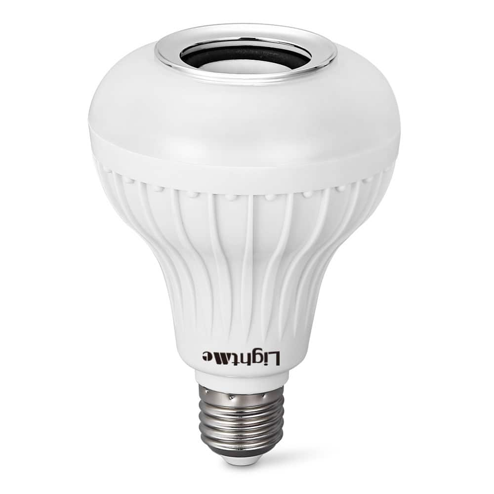 Lightme e27 led bulb w built in bluetooth 3 0 speaker 8 for Led light bulb with built in bluetooth speaker