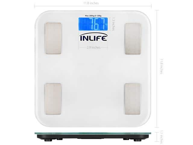 INLIFE Electronic Digital Weight Scale QHC with LCD Display $11.99 Shipped @ Newegg