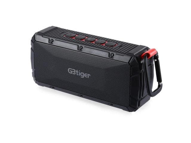 GBtiger Portable Wireless Stereo Bluetooth 4.0 Outdoor Speaker with Carabiner Clip $12.99 shipped @newegg