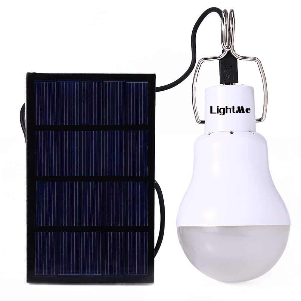 Portable130LM Solar Powered Led Bulb Light $6.74 + FS @ Amazon (w/ Prime)