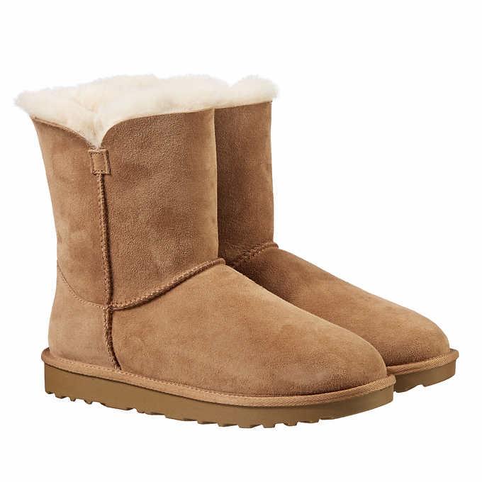 2051f32efbc Costco.com - Kirkland Signature Ladies' Shearling Zipper Boot (UGG ...