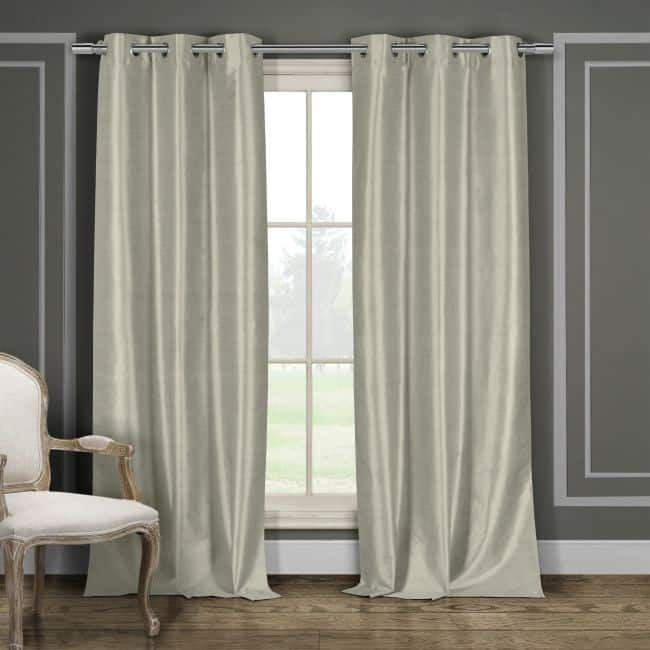 2-Pack: Blackout Energy-Saving Window Panel Curtains $20 + Free Shipping