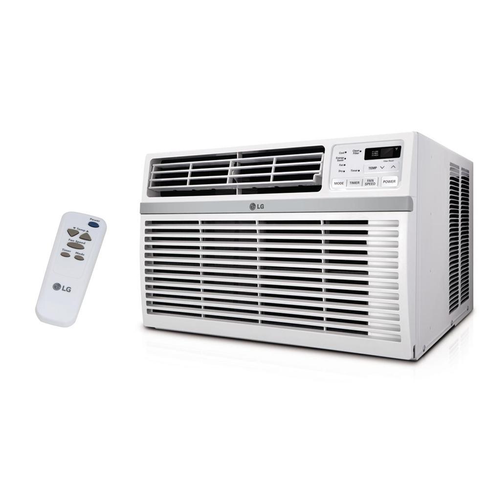 LG 15,000 BTU 115V Energy Star Window Air Conditioner with Remote