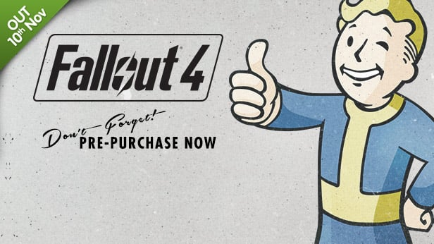 PC Fallout 4 preorder $48 on GMG