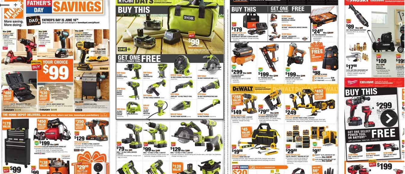 Home Depot Father S Day Ad Jun 6 Jun 19 Slickdeals Net