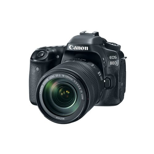 Refurbished Canon EOS 80D EF-S 18-135mm f/3.5-5.6 IS USM Kit $949.2