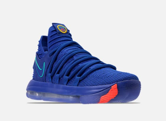 Finish Line - Men's Nike Zoom KDX in Racer Blue for $82.49 from $150 $89.49
