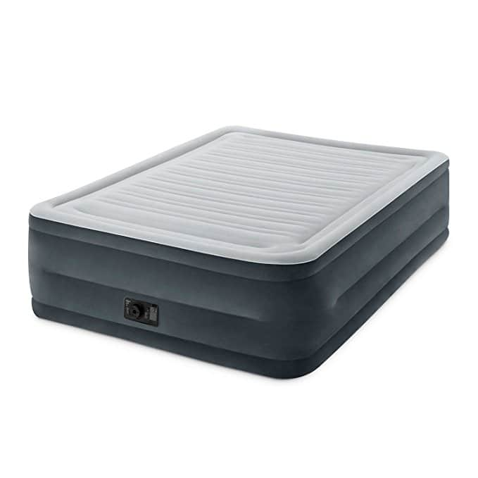 """Intex Comfort Plush Elevated Dura-Beam Airbed with Built-in Electric Pump, Bed Height 22"""", Queen. F/S Amazon $39.98"""