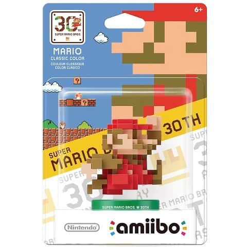 Nintendo Mario Amiibo 30th Anniversary, Now Available at Walmart $13