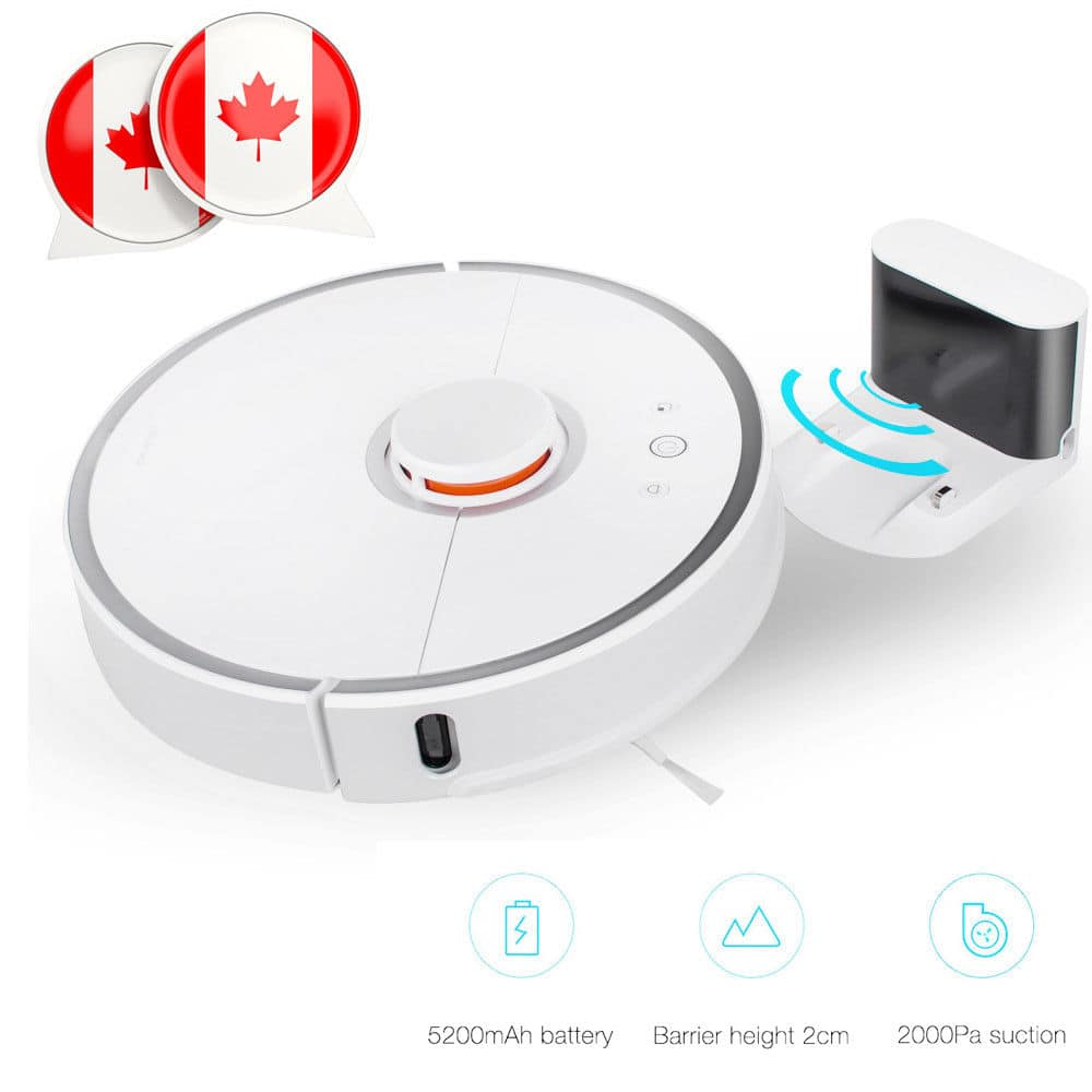 Xiaomi Mi Vacuum Robot V2 Vacuum + Mop For $395 Shipped free from US warehouse at Ebay after 20% discount $390