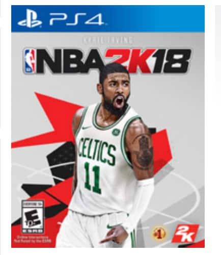 NBA 2k18 PS4/XB1 $27