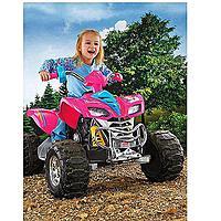 Fisher-Price Power Wheels Barbie KFX 12-V Battery-Powered Ride-On $  179 FS @ Walmart