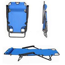 New Lounge Chairs Recliner Reclining Outdoor Beach Patio Garden Folding Chair $32.49 + fs