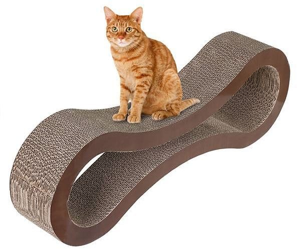 Yaheetech Cat Scratcher Lounge Brown, 32.09 Inches $22.99 + fs