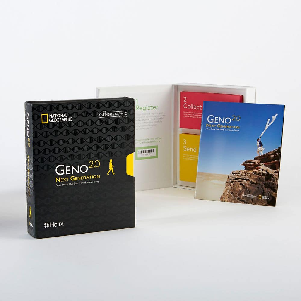 Geno 2.0 by National Geographic - Helix - $58.89 Total, Shipped. 75% off Original Price. $49.98