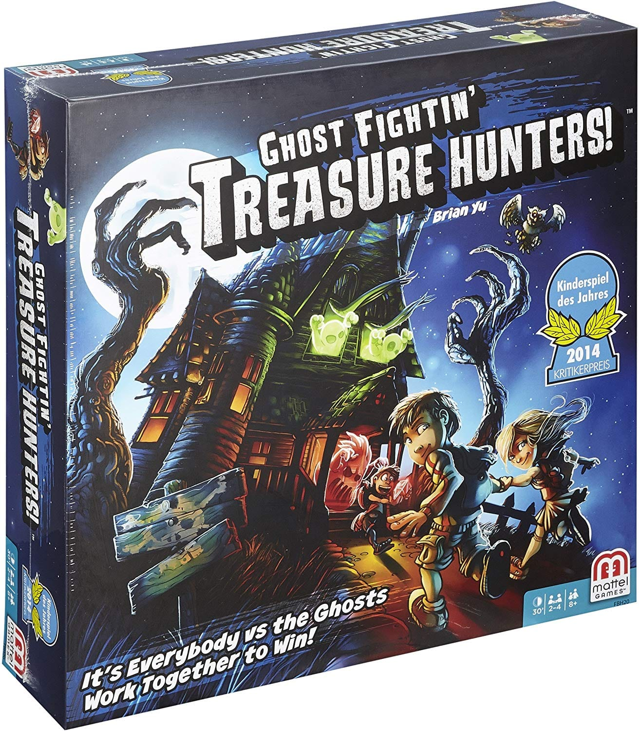 Ghost Fightin' Treasure Hunters Board Game $21.99