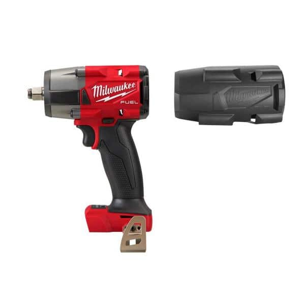 Milwaukee M18 Mid-torque Gen2 1/2 inch Impact wrench with Boot, hackable $159.8