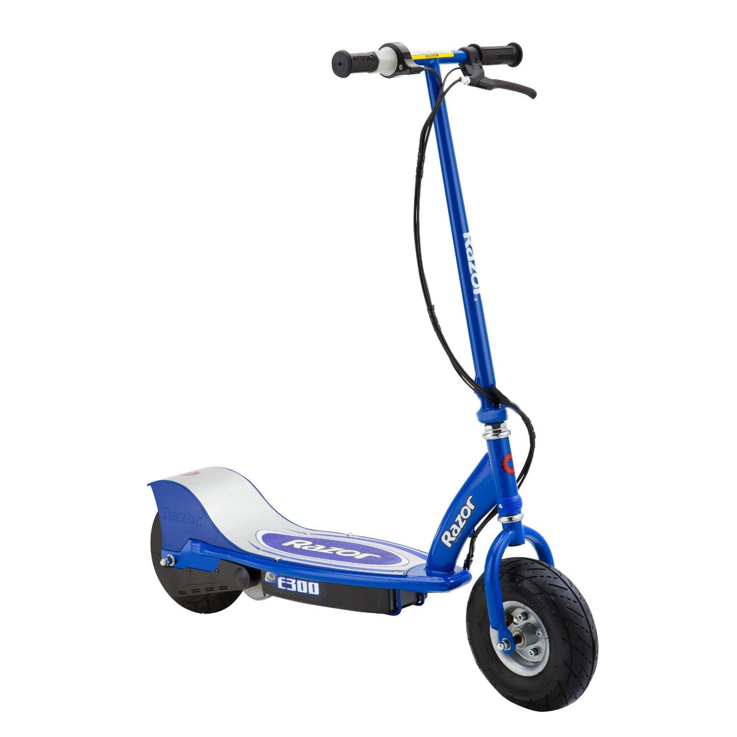 Razor E300 Electric 24 Volt Rechargeable Motorized Ride On Kids Scooter, Blue $150