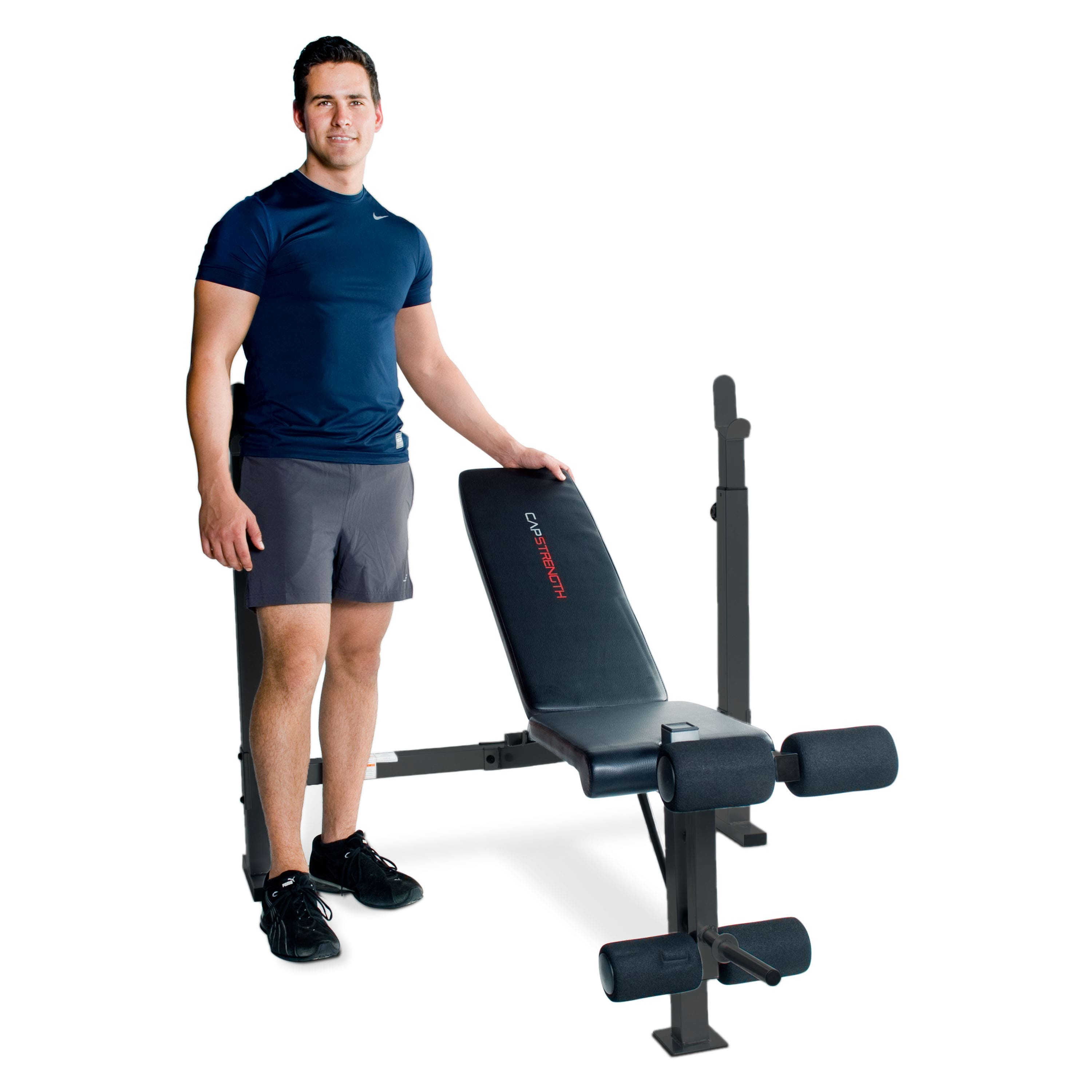 CAP Strength Olympic Weight Bench, Black $109.99