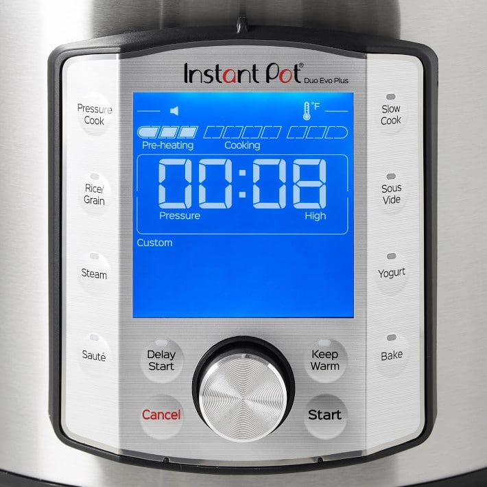 Instant Pot Duo Evo Plus Pressure Cooker, 6-Qt 89.85 with free ship, 1 day deal   -  (other items also on sale) $89.95