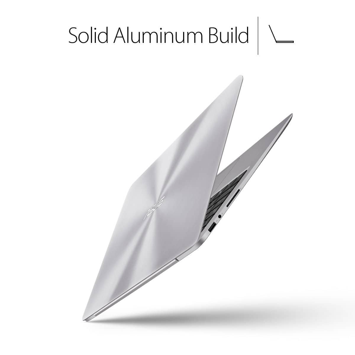 ASUS ZenBook UX330UA-AH54 13.3-inch LCD Ultra-Slim Laptop (Core i5 Processor, 8GB DDR3, 256GB SSD, Windows 10) w/ Harman Kardon Audio, Backlit keyboard, 2.6 Pounds only! $699