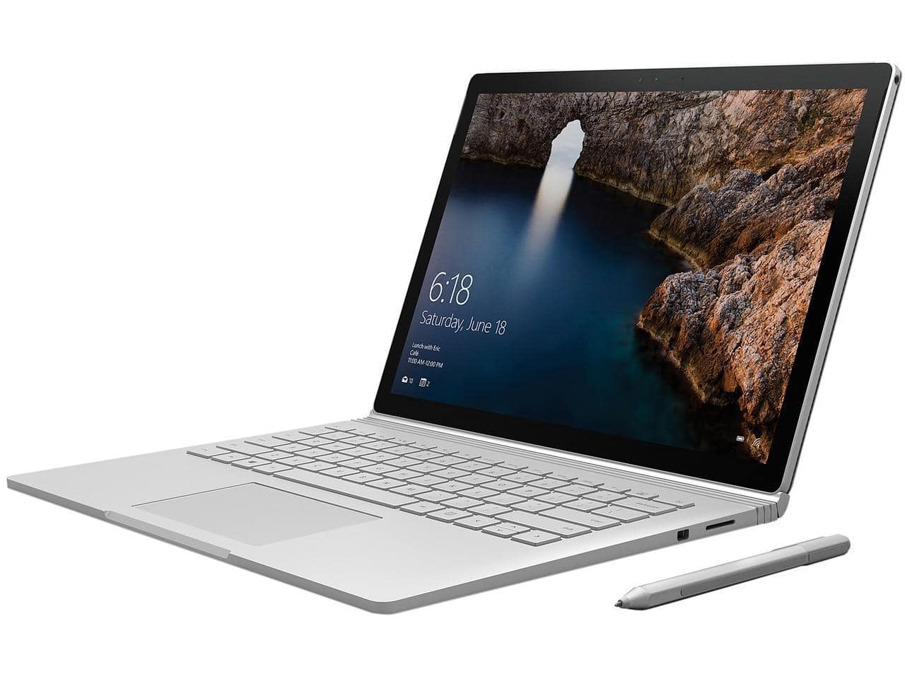 Microsoft Surface i5 6th Gen 6300U 2.40 GHz 8 GB Memory 256 GB SSD NVIDIA GeForce 13.5 Touchscreen Win 10 Pro + Surface Pen $899