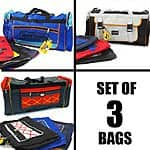 "Set of 3 Travel 26"" Duffels by SportPak $15.49 + ship @thatdailydeal.com"