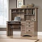 Sauder Harbor View Computer Desk with Hutch, Salt Oak $179.88 + fs @walmart.com