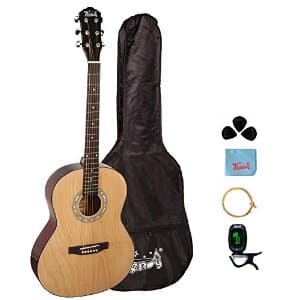 Trendy 38 Inch Acoustic Guitar Package, Basswood, Nature $84.99 + fs @amazon.com