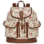 SM New York Floral Ditsy Print Cargo Backpack $36 + ship @jcpenney.com