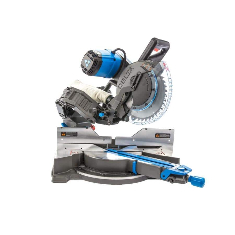 "YMMV DELTA Cruzer 15 Amp Dual Bevel Sliding Compound Miter Saws 10"" for $329.45 or 12"" for $356.95 (45% off )"
