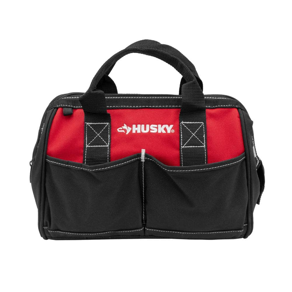 """Husky 12"""" Tool Bag $5.97 w/ Free In-Store Pickup at Home Depot"""