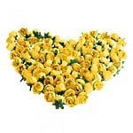 100 Artificial Yellow Roses Silk Flower Head Home Party Wedding Decoration  $11.29 + fs @eachbuyer.com