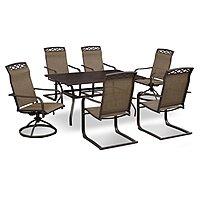 Terrace 7 Pc. Outdoor Dinette by Retreat $  593.94 + ship @valuecityfurniture.com