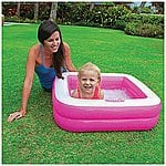 Intex® Square Baby Pool $2.50 + ship @biglots.com