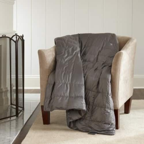 Eddie Bauer 700-Fill Power Down Throw (Assorted Colors) $17.98 + fs