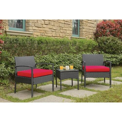 Howze 3 Piece Conversation Set with Cushions $136.82 + fs