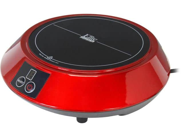 Elite Portable Induction Cooktop Red EIND-88R $13.99 + fs @newegg.com