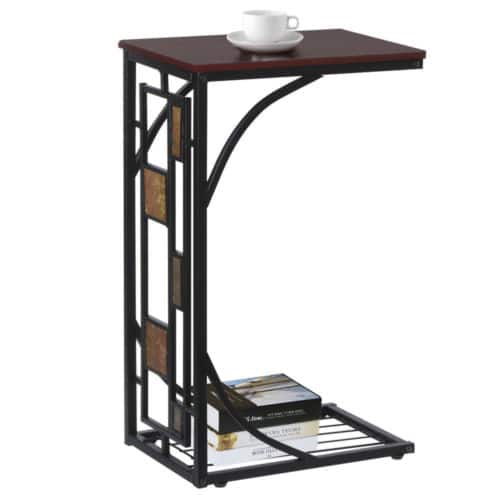 Coffee Tray Side Sofa Table Ottoman Couch Room Console Stand End TV Lap Snack $19.98 + fs