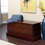 Aster Cedar Hope Chest - Cherry Finish $149.00 + fs @hayneedle.com