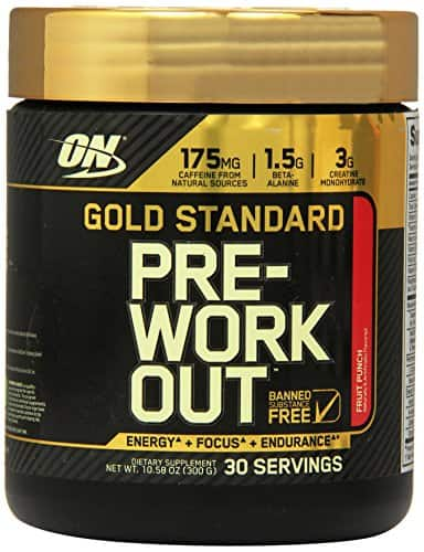 30-Servings Optimum Nutrition Gold Standard Pre-Workout (Fruit Punch) $11.69