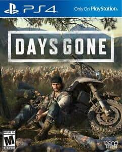 Days Gone PS4 $16.99