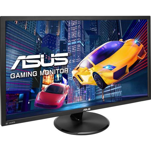 "$259 w/free shipping - ASUS VP28UQG 28"" 16:9 4K UHD Adaptive-Sync TN Gaming Monitor"