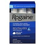 Men's Rogaine Foam 3 Month Supply - $33.19 plus tax (or better w/ Red Card) with an additional $10 of Target Gift Cards