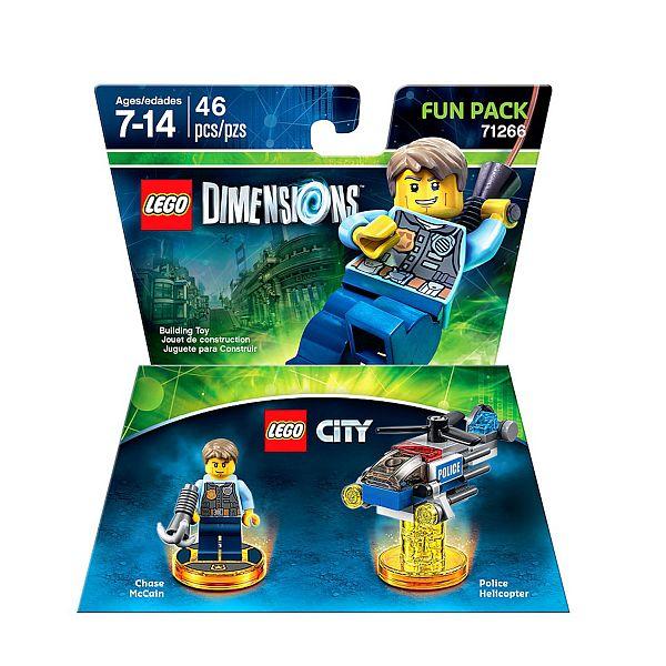 Walmart.com: LEGO Dimensions Lego City Fun Pack - $7.28