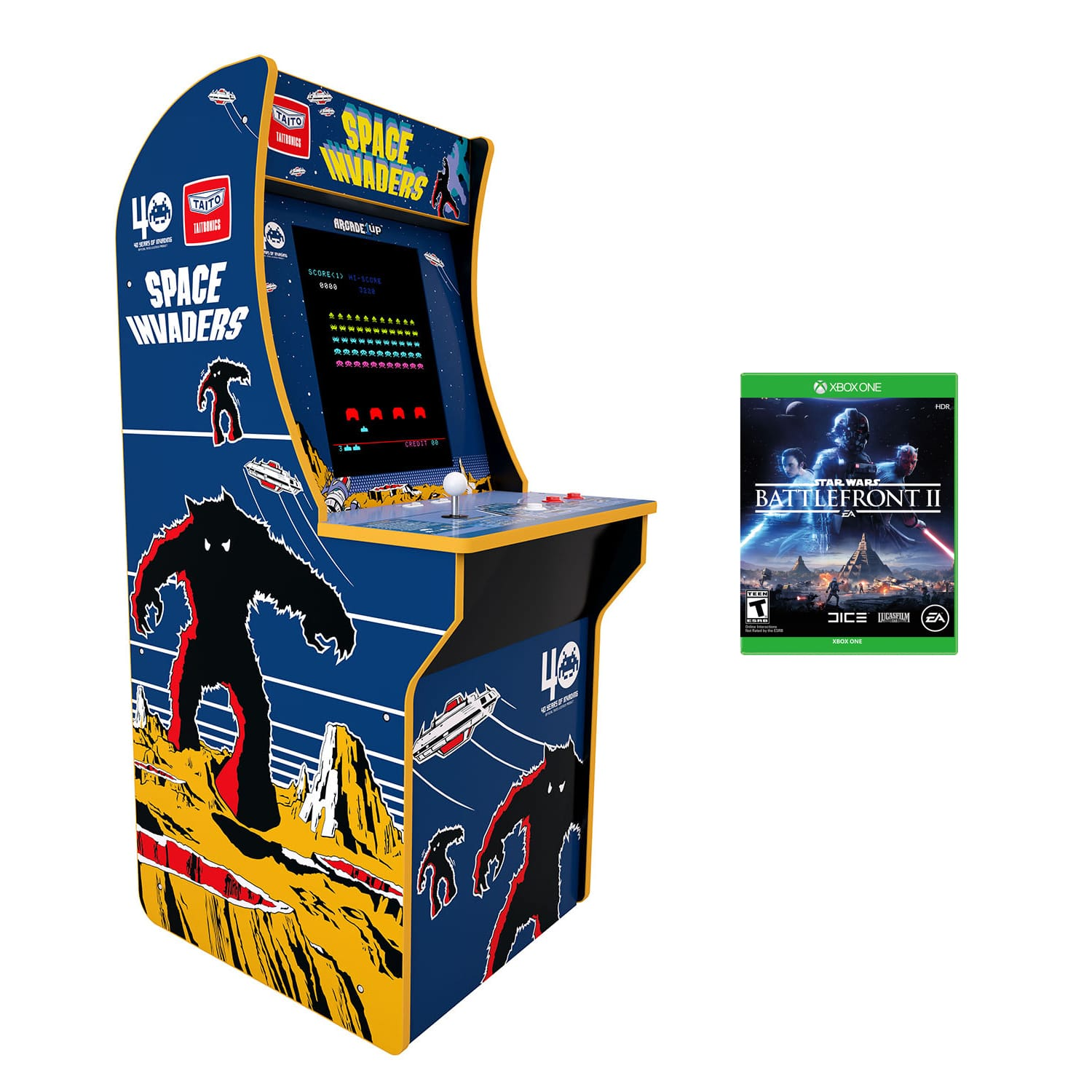 Arcade1up Space Invaders bundle $150 shipped